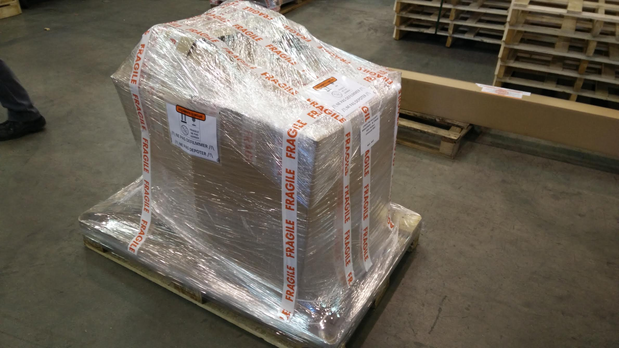 Protection et emballage sécurisé du convertisseur et batterie