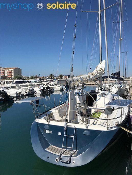 installation solaire pour bateau