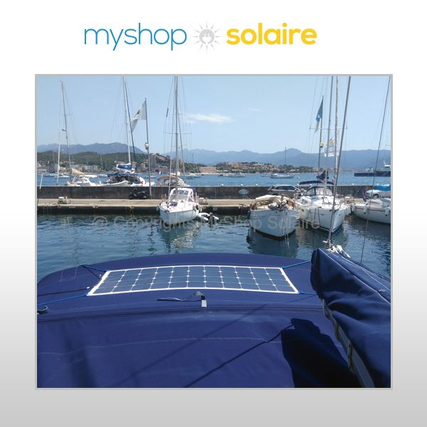 Installation client solaire bateau nautisme