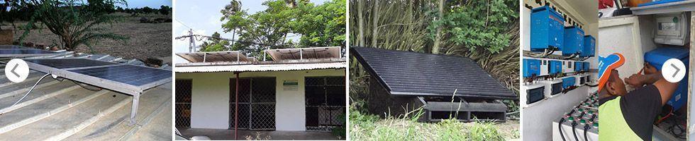 Installation clients Kit solaire spéciale Afrique