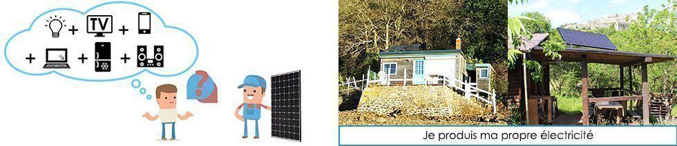 Kit solaire en toute autonomie