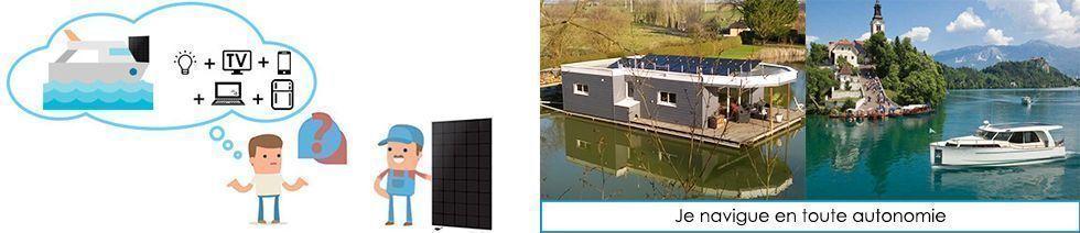 Kit solaire nautisme