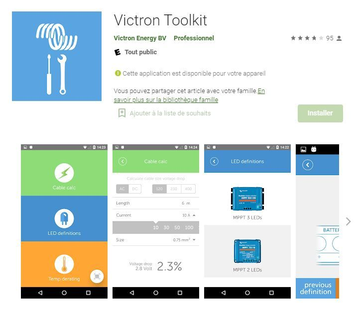 Application Victron Toolkit