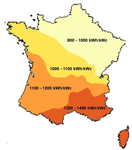 capacité de production photovoltaïque de panneau solaire