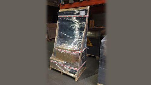 Emballage certifié des kits solaire MyShop