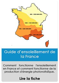Guide de l'ensoleillement en France