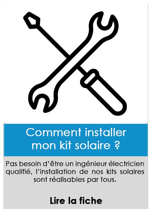 Comment installer mon kit solaire