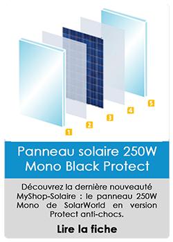 Panneau solaire 250W Mono Black Protect
