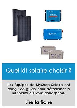 Quel kit solaire choisir ?