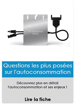 Questions les plus posées sur l'auto-consommation