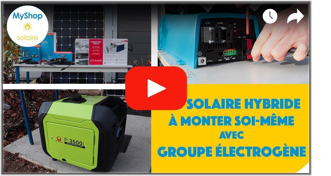 Vidéo kit solaire hybride