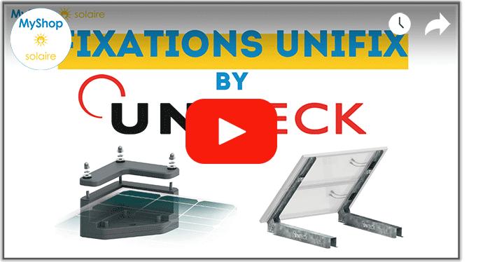Vidéo installation de support de fixation panneau solaire
