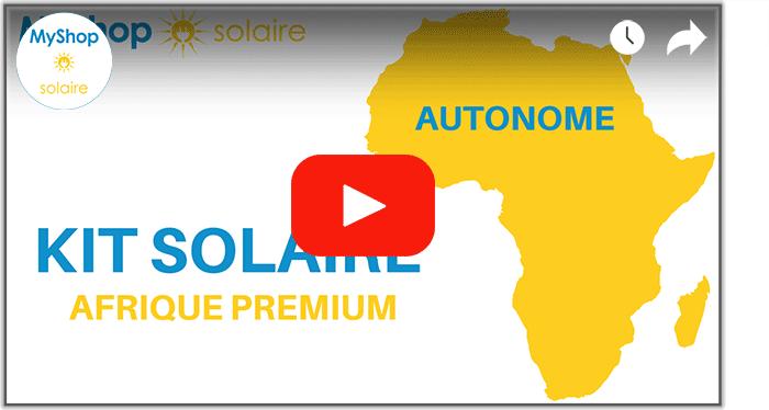 Vidéo installation solaire pour l'afrique