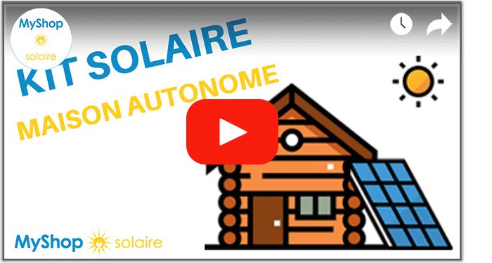 Vidéo kit solaire isolé