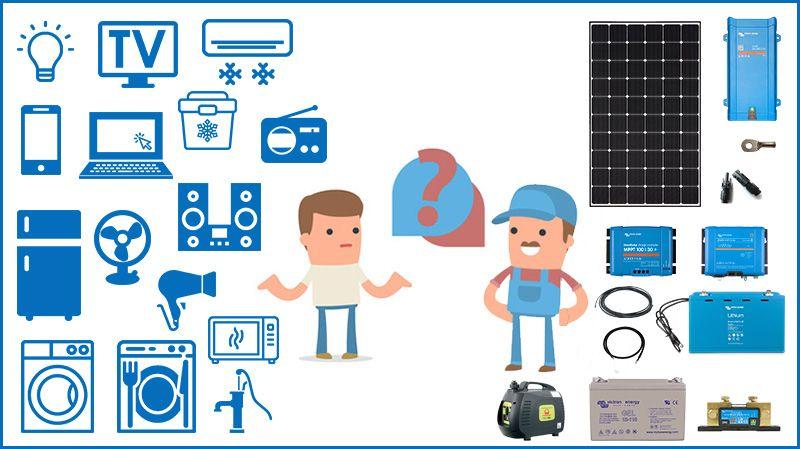 Quel kit solaire autonome choisir ?