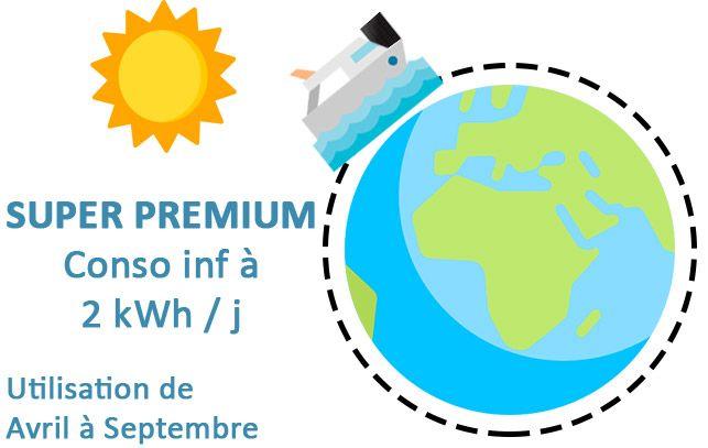 Kit solaire Nautisme Super Premium
