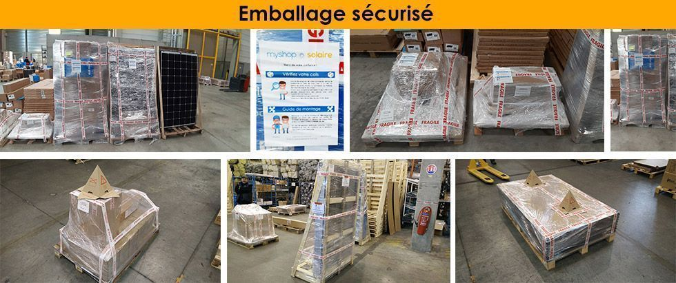 Emballage sécurisé