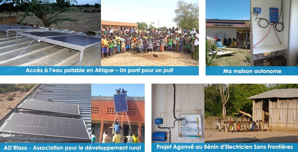 Témoignage installation solaire en Afrique