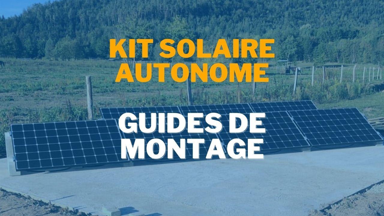 Vidéo kit solaire autonome
