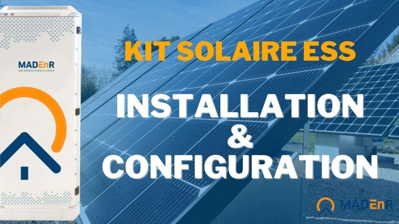 Vidéo kit solaire ESS