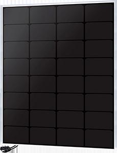 Panneau solaire 55W monocristallin back contact