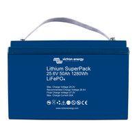 Batterie Lithium SuperPack 25,6V/50Ah - Victron Energy (BMS intégré)