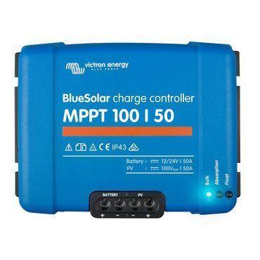 Régulateur solaire MPPT 100/50 - 12/24V Victron Energy / Régulateur solaire MPPT
