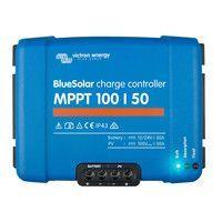 Régulateur solaire MPPT 100/50 - 12/24V Victron Energy face