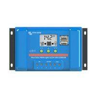 Régulateur solaire PWM 10A LCD&USB - 12/24V Victron Energy