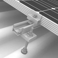 Fixation toiture 2 panneau pour tôle ondulée fibrociment - K2 System