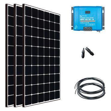 Kit solaire Nautisme 1200W - 12 ou 24V - Super Premium / Navigation Super Premium - 55W à 1110W