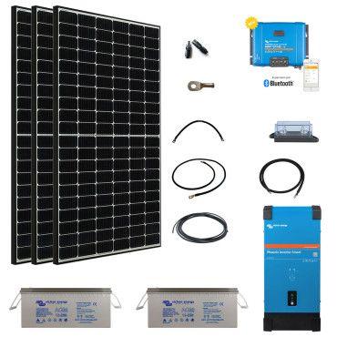 Kit solaire 1155W autonome Afrique Premium / Kit Solaire AFRIQUE