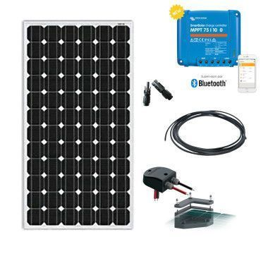 Kit solaire camping car 115W 12V / Loisirs - Petits besoins - 115w à 345W
