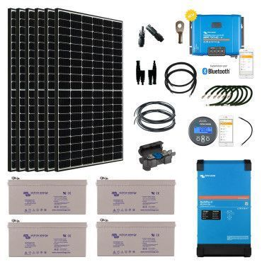 Kit solaire 2310W Hybride - MultiPlus II 230V (3000VA) / Kit solaire autonome