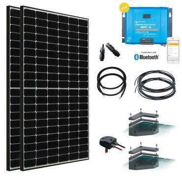 Kit solaire Véhicule 2x385W (770W) - Batteries en option / Kit solaire Véhicule