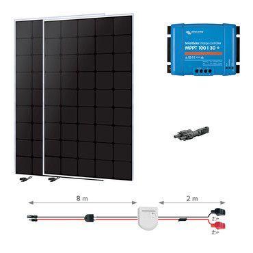 Kit solaire 300W Back-contact -  Nautisme / Navigation Super Premium - 55W à 1110W