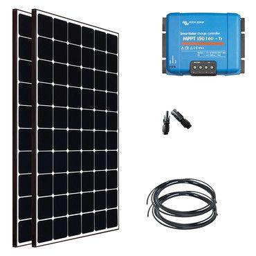 Kit solaire Nautisme 2x400W (800W) - 12 ou 24V - Super Premium / Navigation Super Premium - 55W à 1110W