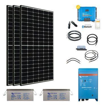 Kit solaire 1155W Hybride Afrique Premium / Kit Solaire AFRIQUE