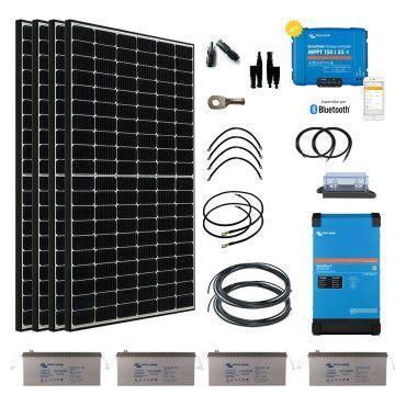 Kit solaire 1540W Hybride Afrique Premium / Kit Solaire AFRIQUE