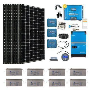Kit solaire 3850W Hybride Afrique Premium / Kit Solaire AFRIQUE