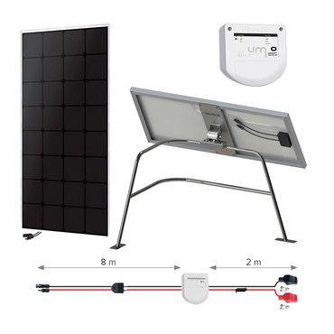 Kit solaire 110W Back-contact - Balcon - Nautisme / Navigation Super Premium - 55W à 1110W