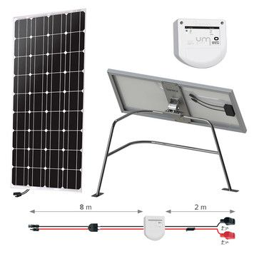 Kit solaire 100W - Balcon - Nautisme - Uniteck / Kit solaire Nautisme