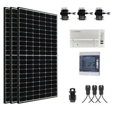 Kit Solaire évolutif 1155W Autoconsommation - Plug & Play / Kit solaire raccordé au réseau
