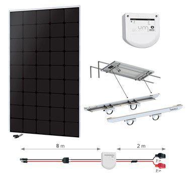 Kit solaire 150W Back-contact - Portique - Nautisme / Navigation Super Premium - 55W à 1110W