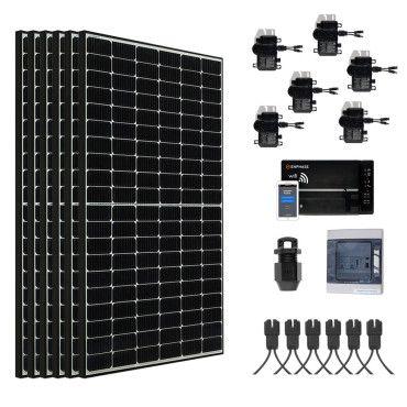 Kit Solaire raccordé réseau évolutif LG 2340W - Portrait / Kit avec panneaux en mode portrait