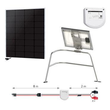 Kit solaire 55W Back-contact - Balcon - Nautisme / Navigation Super Premium - 55W à 1110W