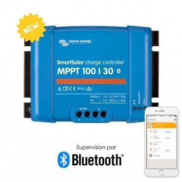 Régulateur de charge solaire SmartSolar MPPT 100/30 (12/24V) - Victron Energy / Produits à l'unité