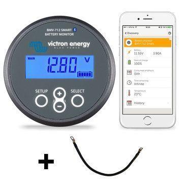 Pack Controleur de batterie BMV 712 Smart + Cable BMV / Accessoires batterie
