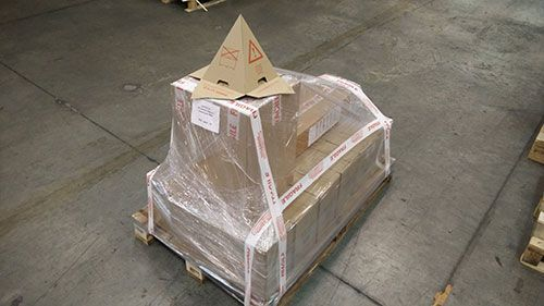 Matériels solaires protégé pour le transport