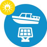 Kit solaire Bateau